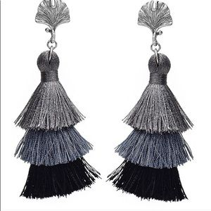 Bohemian Style Tassel Fringe Earrings